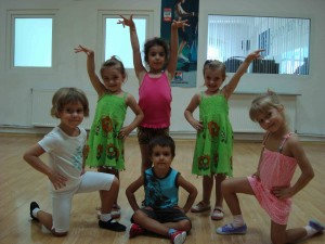 cursuri dans pentru copii